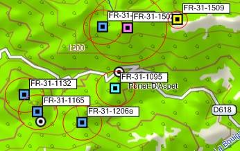 GPS/GPXX sur MapSource