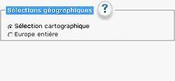 Sélections géographiques: Europe