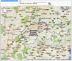 Carte Google Maps entière