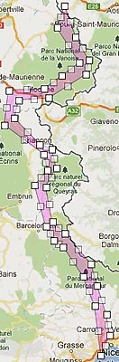 Sélection route des grandes Alpes