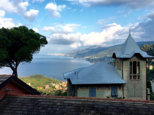 V7b Parc de Portofino, au loin, Gênes (© Thierry Labour)