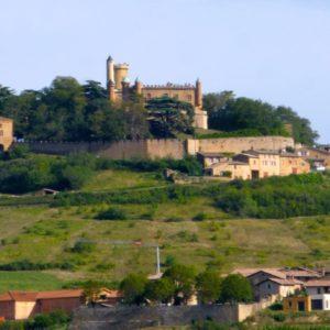 R3 le château de Saint-Julien-sous-Montmelas ©Ph Chazottier